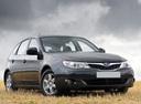 Фото авто Subaru Impreza 3 поколение, ракурс: 315 цвет: мокрый асфальт