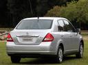 Фото авто Nissan Tiida C11 [рестайлинг], ракурс: 180 цвет: белый