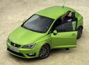 Фото авто SEAT Ibiza 4 поколение [рестайлинг], ракурс: 45 цвет: зеленый