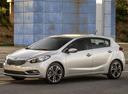 Фото авто Kia Cerato 3 поколение, ракурс: 45 цвет: серебряный