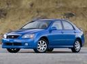 Фото авто Kia Spectra 2 поколение, ракурс: 45