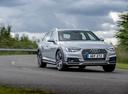 Фото авто Audi A4 B9, ракурс: 315 цвет: серый