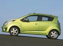 Фото авто Chevrolet Spark M300, ракурс: 90 цвет: салатовый