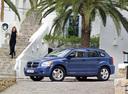 Фото авто Dodge Caliber 1 поколение, ракурс: 90 цвет: синий