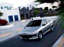 Фото авто Peugeot 206 1 поколение [рестайлинг], ракурс: 45 цвет: серебряный