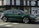Фото авто Audi SQ5 2 поколение, ракурс: 270 цвет: зеленый