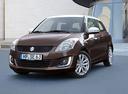 Фото авто Suzuki Swift 4 поколение [рестайлинг], ракурс: 45 цвет: коричневый