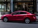 Фото авто Mazda 3 BM [рестайлинг], ракурс: 90 цвет: красный