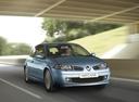 Фото авто Renault Megane 2 поколение [рестайлинг], ракурс: 315 цвет: голубой