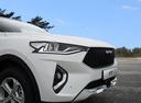 Фото авто Haval F7 1 поколение, ракурс: передняя часть цвет: белый