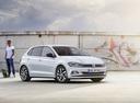 Фото авто Volkswagen Polo 6 поколение, ракурс: 315 цвет: белый
