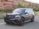Фото авто Mercedes-Benz GLS-Класс X166, ракурс: 45 цвет: черный