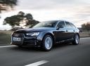 Фото авто Audi A4 B9, ракурс: 45 цвет: синий
