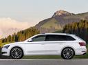 Фото авто Skoda Superb 3 поколение, ракурс: 90 цвет: белый