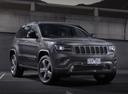 Фото авто Jeep Grand Cherokee WK2 [рестайлинг], ракурс: 315 цвет: серый