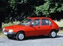 Фото авто Peugeot 205 1 поколение, ракурс: 90