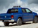 Фото авто Volkswagen Amarok 1 поколение [рестайлинг], ракурс: 225 цвет: синий