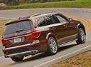 Фото авто Mercedes-Benz GL-Класс X166, ракурс: 225 цвет: коричневый