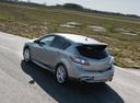 Фото авто Mazda 3 BL, ракурс: 135 цвет: серебряный