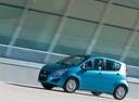 Фото авто Suzuki Splash 1 поколение [рестайлинг], ракурс: 90 цвет: голубой