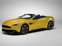 Фото авто Aston Martin Vanquish 2 поколение, ракурс: 45 цвет: желтый