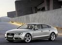 Фото авто Audi A5 8T [рестайлинг], ракурс: 45 цвет: бежевый