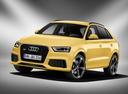 Фото авто Audi RS Q3 8U, ракурс: 45 цвет: желтый