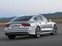 Фото авто Audi A7 4G [рестайлинг], ракурс: 225 цвет: серебряный