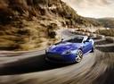 Фото авто Aston Martin Vantage 3 поколение [2-й рестайлинг], ракурс: 45 цвет: синий