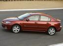 Фото авто Mazda 3 BK [рестайлинг], ракурс: 90 цвет: красный