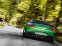 Фото авто Mercedes-Benz AMG GT C190 [рестайлинг], ракурс: 180 цвет: зеленый