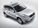 Фото авто Geely Emgrand X7 1 поколение, ракурс: 315 цвет: серебряный