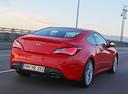 Фото авто Hyundai Genesis 1 поколение [рестайлинг], ракурс: 225 цвет: красный