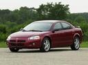 Фото авто Dodge Stratus 2 поколение, ракурс: 45 цвет: бордовый