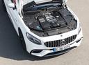 Фото авто Mercedes-Benz S-Класс W222/C217/A217 [рестайлинг], ракурс: двигатель цвет: белый