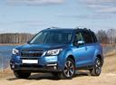 Фото авто Subaru Forester 4 поколение [рестайлинг], ракурс: 45 цвет: синий