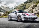 Фото авто Porsche 911 991 [рестайлинг], ракурс: 315 цвет: белый