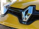 Фото авто Renault Megane 3 поколение [2-й рестайлинг], ракурс: передняя часть цвет: желтый