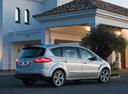 Фото авто Ford S-Max 1 поколение [рестайлинг], ракурс: 225 цвет: серебряный