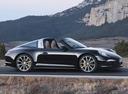 Фото авто Porsche 911 991, ракурс: 270 цвет: черный