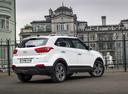 Фото авто Hyundai Creta 1 поколение, ракурс: 225 цвет: белый