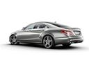 Фото авто Mercedes-Benz CLS-Класс C218/X218, ракурс: 135 цвет: серый