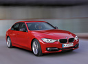 Фото авто BMW 3 серия F30/F31/F34, ракурс: 315 цвет: красный