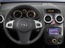 Фото авто Opel Corsa D [рестайлинг], ракурс: рулевое колесо