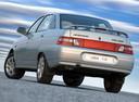 Фото авто ВАЗ (Lada) 2110 1 поколение, ракурс: 180 цвет: серебряный