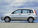 Фото авто Ford Fusion 1 поколение, ракурс: 90 цвет: серебряный