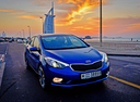Фото авто Kia Cerato 3 поколение, ракурс: 315 цвет: синий