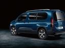 Фото авто Peugeot Rifter 1 поколение, ракурс: 135 цвет: синий