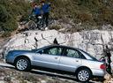 Фото авто Audi A4 B5, ракурс: 90 цвет: серебряный