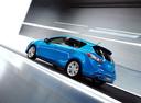 Фото авто Mazda 3 BL, ракурс: 135 цвет: голубой
